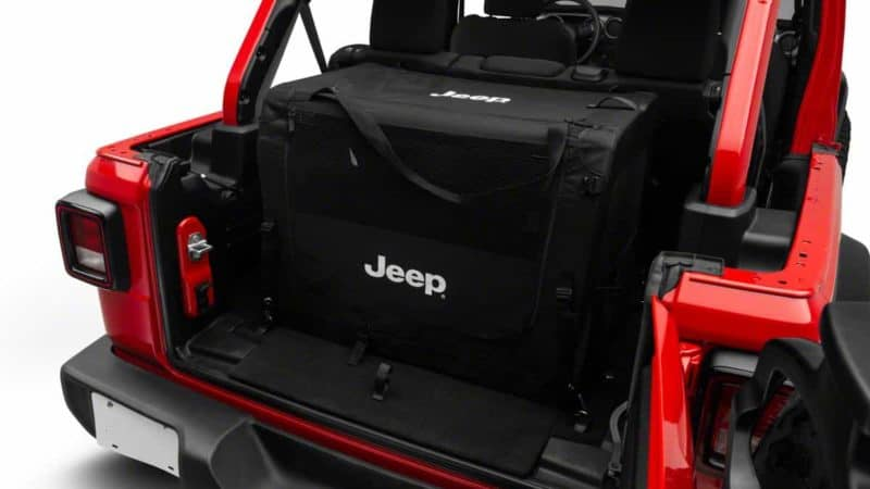 best dog crate for jeep wrangler