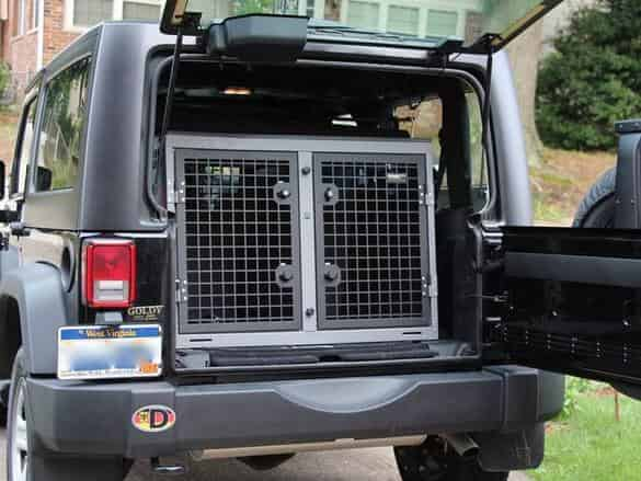Best dog crate for jeep wrangler perfect size 4 a safer ride 1
