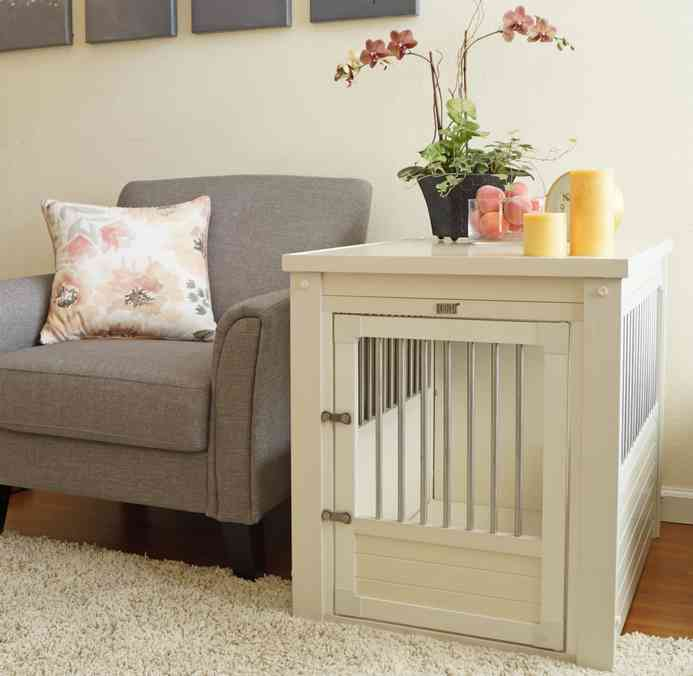 Ecoflex bedside table dog crate