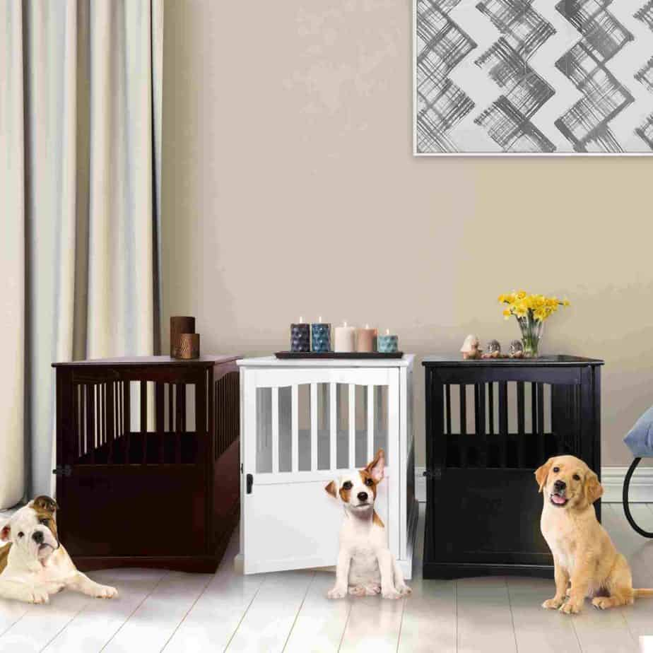 Casual Home bedside table dog crate