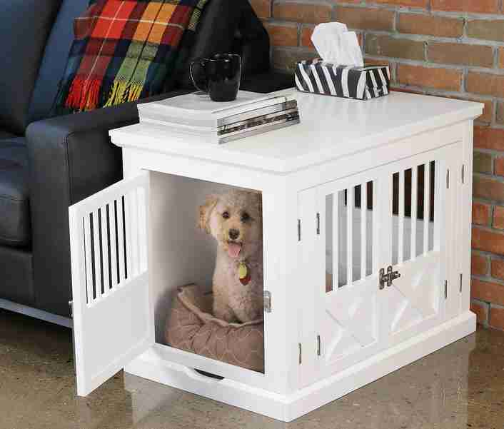 Zoovilla bedside table dog crate